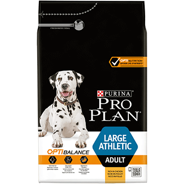 ​PURINA® PRO PLAN® Large Athletic Adult ar OPTIBALANCE™ (sausā barība ar vistas gaļu)