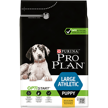 ​PURINA® PRO PLAN® Large Athletic Puppy with OPTISTART® Rich in chicken