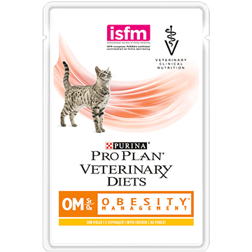 PURINA® PRO PLAN® VETERINARY DIETS Feline OM St/Ox Obesity Management