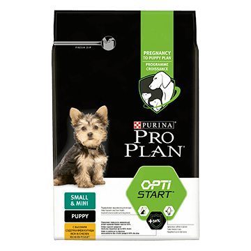 ​PURINA® PRO PLAN® Small & Mini Puppy ar OPTISTART®, bagātināta ar vistas gaļu